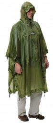 Exped Bivy-Poncho Ultraleicht, green