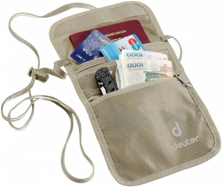 Deuter Security Wallet 2, Inhalt nicht im Lieferumfang. Abb.= Security Wallet II